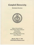 120th Spring Commencement (2006) by Campbell University