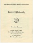 One Hundred Seventh Spring Commencement (1993)