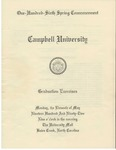 One Hundred Sixth Spring Commencement (1992)