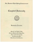 One Hundred Third Spring Commencement (1989)