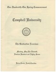 One Hundredth One Spring Commencement (1987)