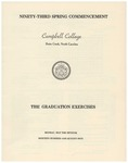 Ninety-Third Spring Commencement (1979)
