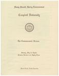 1983 Commencement Sermon