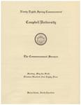 1984 Commencement Sermon