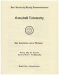 1986 Commencement Sermon