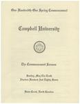 1987 Commencement Sermon