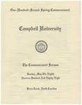 1988 Commencement Sermon
