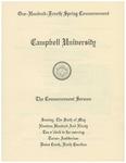 1990 Commencement Sermon