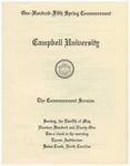 1991 Commencement Sermon