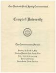 1992 Commencement Sermon
