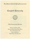 1993 Commencement Sermon