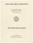 1979 Commencement Sermon