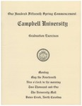 One Hundred Fifteenth Spring Commencement (2001)