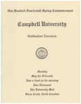 One Hundred Fourteenth Spring Commencement (2000)
