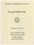One Hundred Ninth Spring Commencement (1995)