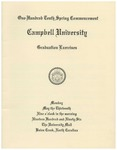 One Hundred Tenth Spring Commencement (1996)