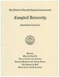 One Hundred Eleventh Spring Commencement (1997)
