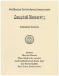 One Hundred Twelfth Spring Commencement (1998)