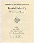 1996 Commencement Sermon