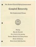 1997 Commencement Sermon