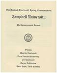 2000 Commencement Sermon