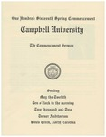 2002 Commencement Sermon