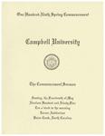1995 Commencement Sermon