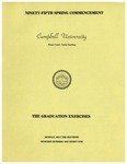Ninety-Fifth Spring Commencement (1981)