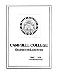 Graduation Luncheon (1979) by Campbell University School of Law