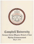 Thirty-Sixth Annual Hooding and Graduation Ceremony (2014) by Campbell University School of Law