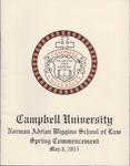 Thirty-Seventh Annual Hooding and Graduation Ceremony (2015) by Campbell University