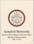 Thirty-Eighth Annual Hooding and Graduation Ceremony (2016) by Campbell University