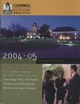 2004-2005 Placement Bulletin