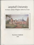 Campbell University School of Law Placement Bulletin 1999