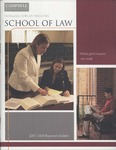 Campbell University School of Law Placement Bulletin 2007-2008