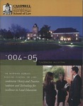 Campbell University School of Law 2004-2005 Placement Bulletin