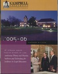 Campbell University School of Law 2005-2006 Placement Bulletin