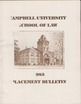 Campbell University School of Law 1983 Placement Bulletin